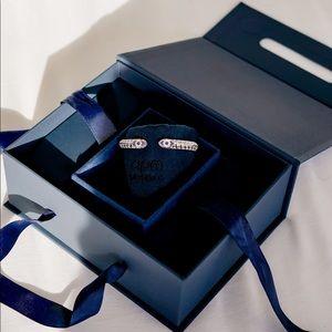 Silver Bracelet Apm Monaco Lucky Eye Open Cuff